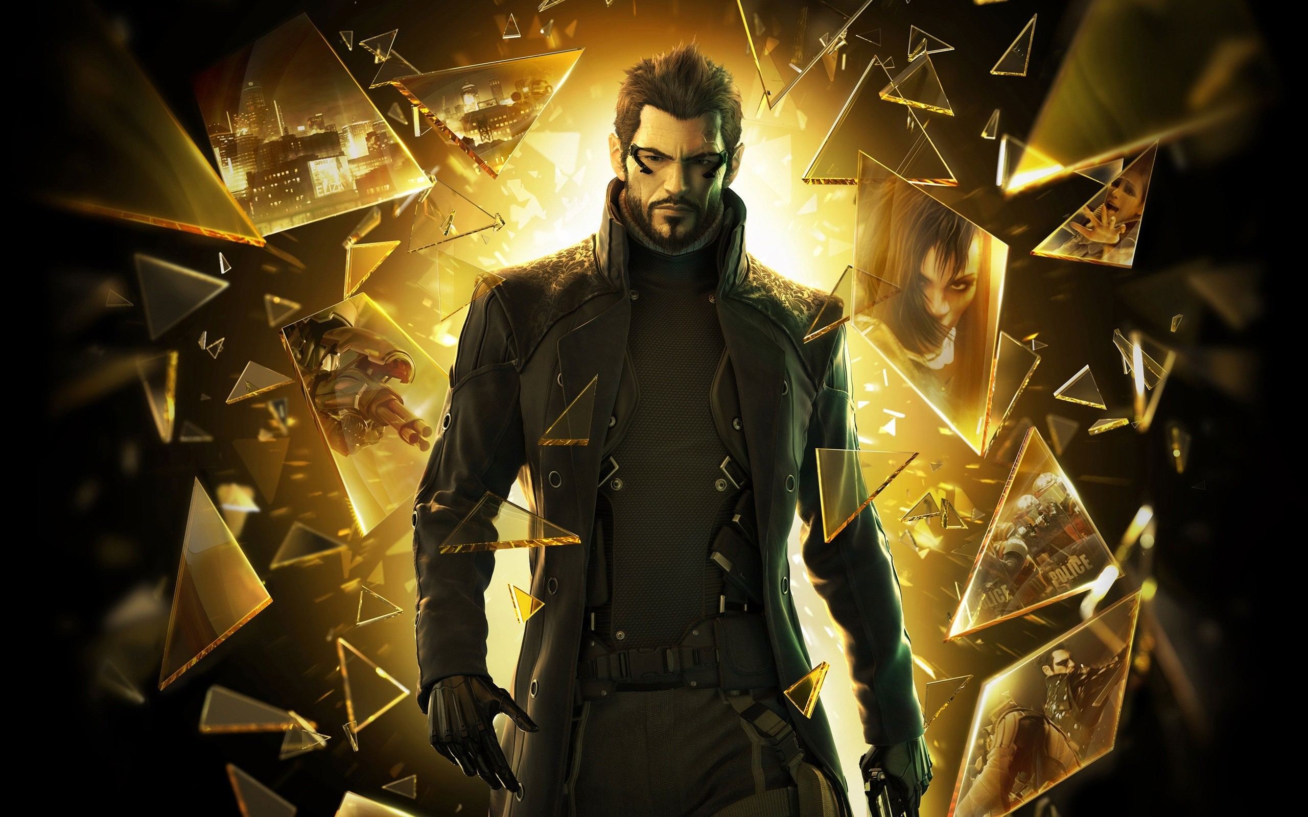 deus ex deus ex human revolution video games HD Wallpaper