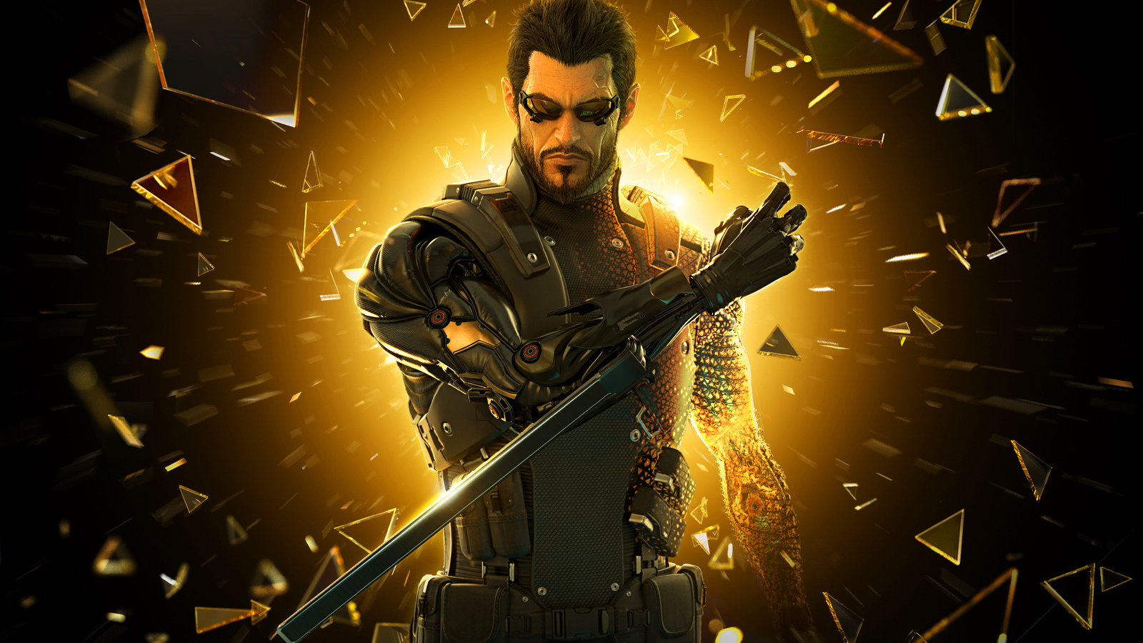 deus ex human revolution HD Wallpaper