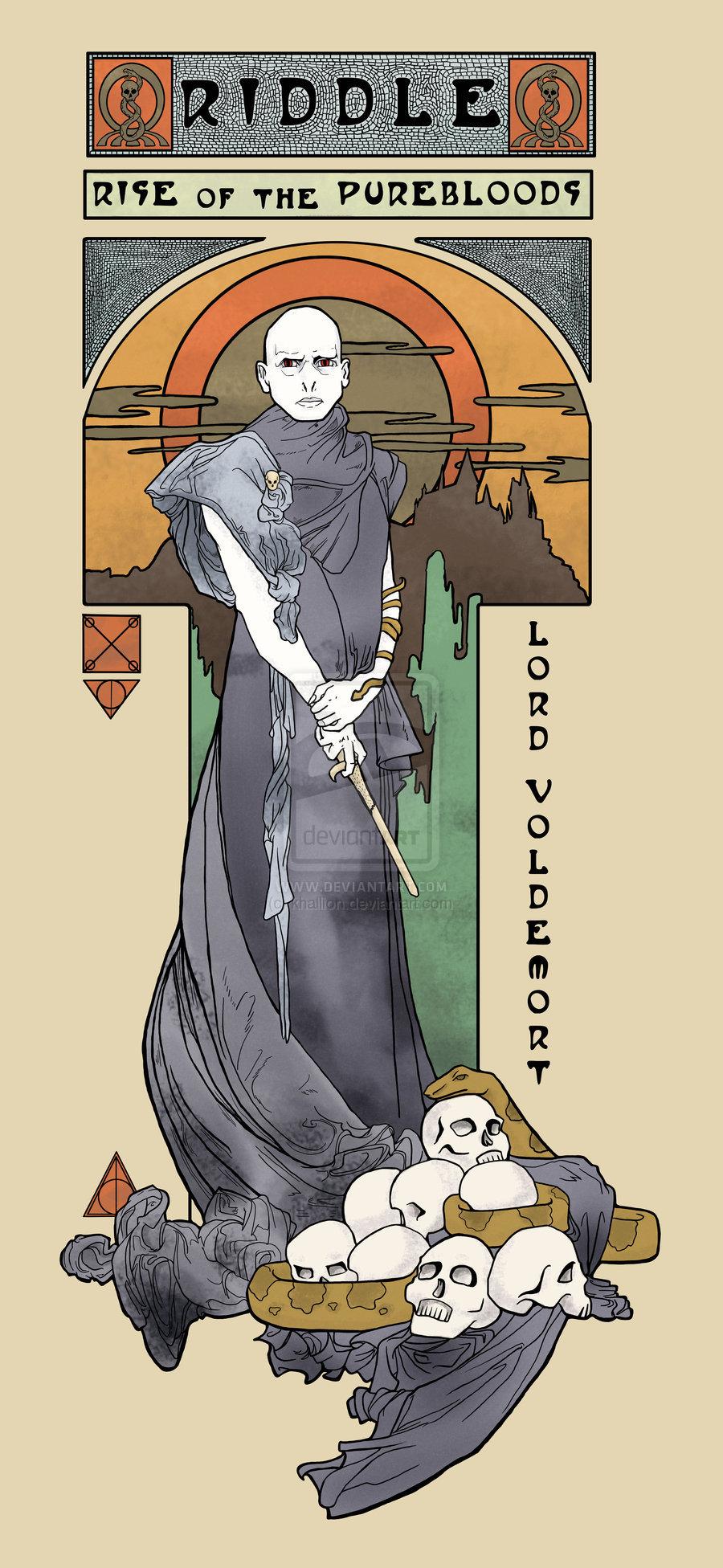 Deviantart Harry Potter Voldemort