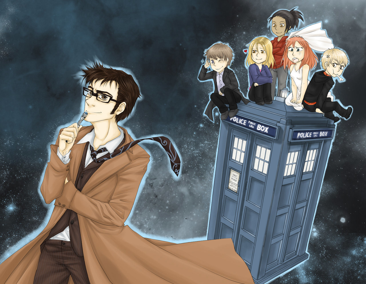 deviantart The Master Doctor HD Wallpaper