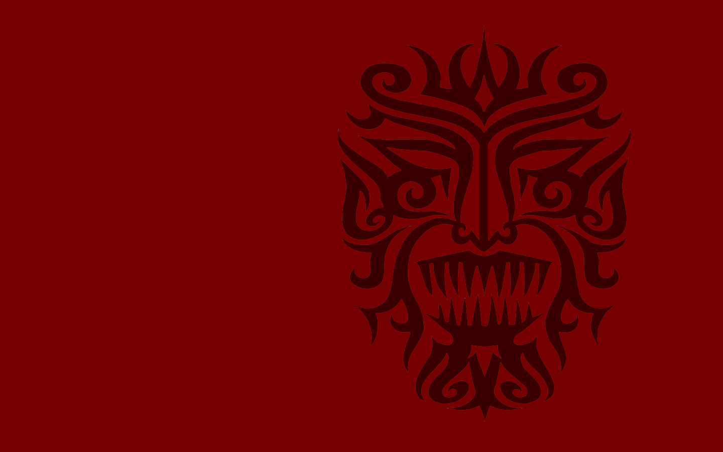 devil Indians Style HD Wallpaper