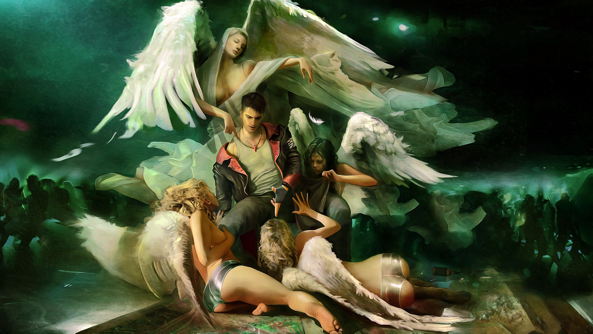 devil may cry artwork HD Wallpaper