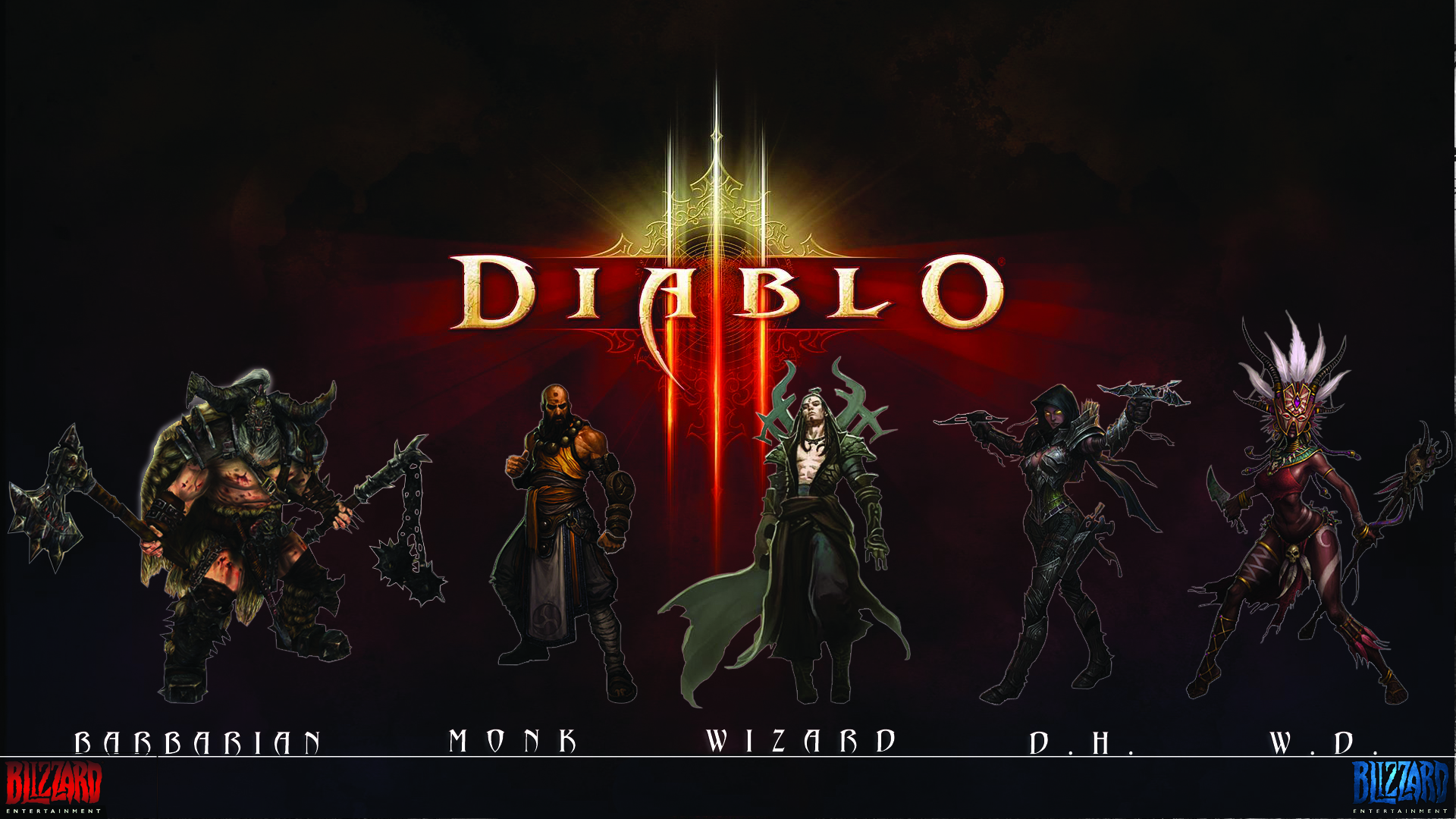 diablo diablo iii blizzard HD Wallpaper