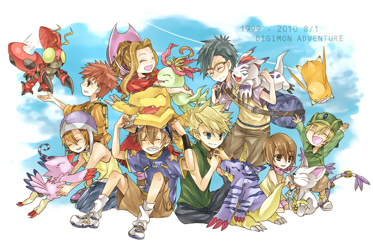Digimon Anime HD Wallpaper