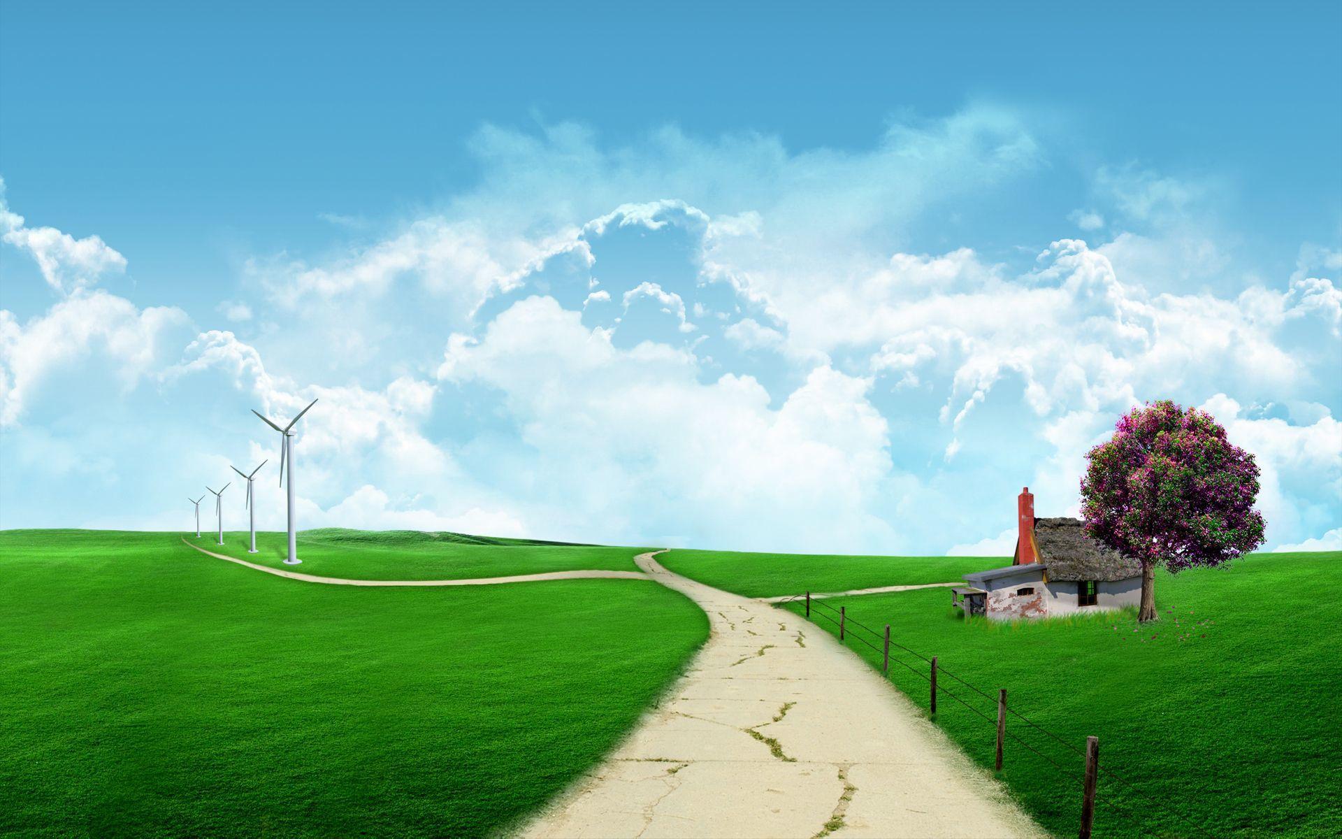 Wallpaper Hd Nature Scene