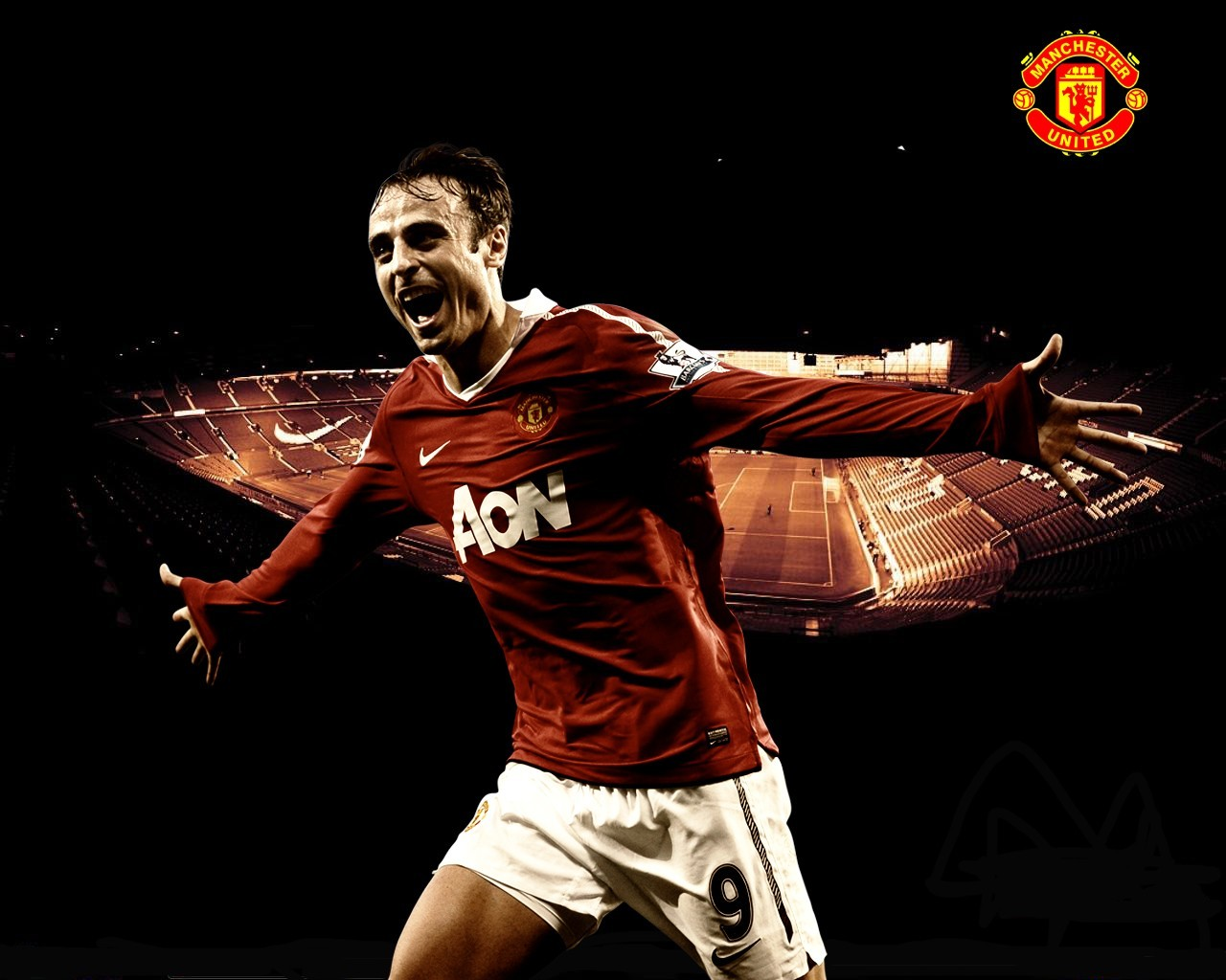 Dimitar Berbatov Manchester United HD Wallpaper