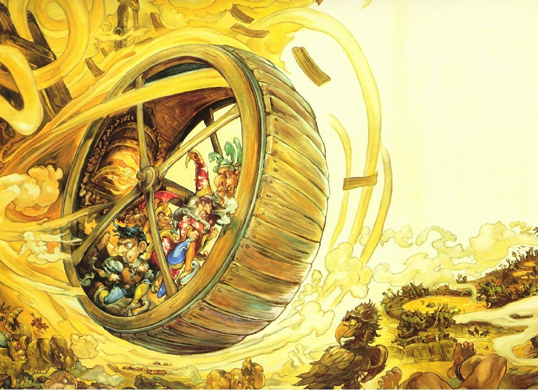 discworld terry pratchett HD Wallpaper
