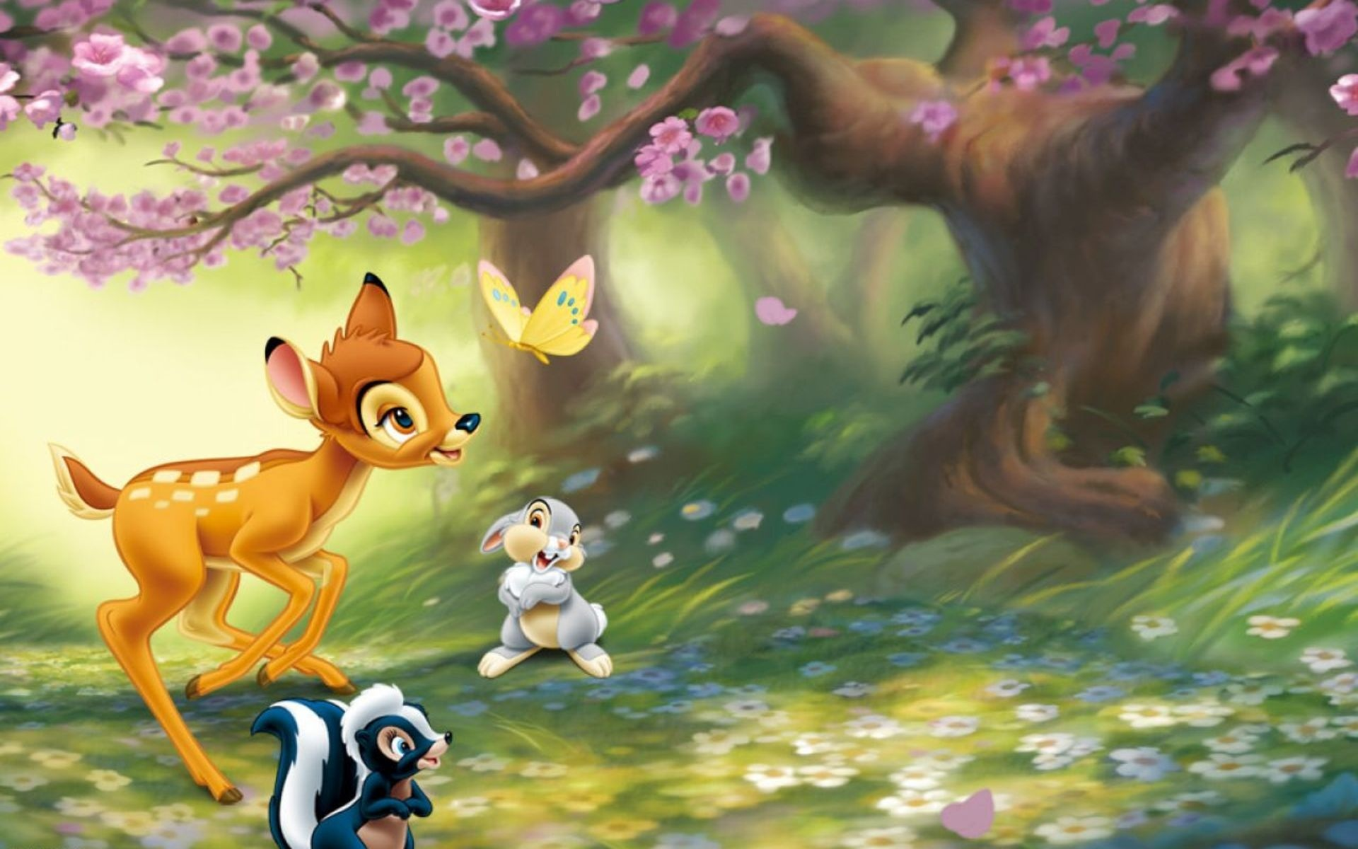 Disney Company Bambi HD Wallpaper