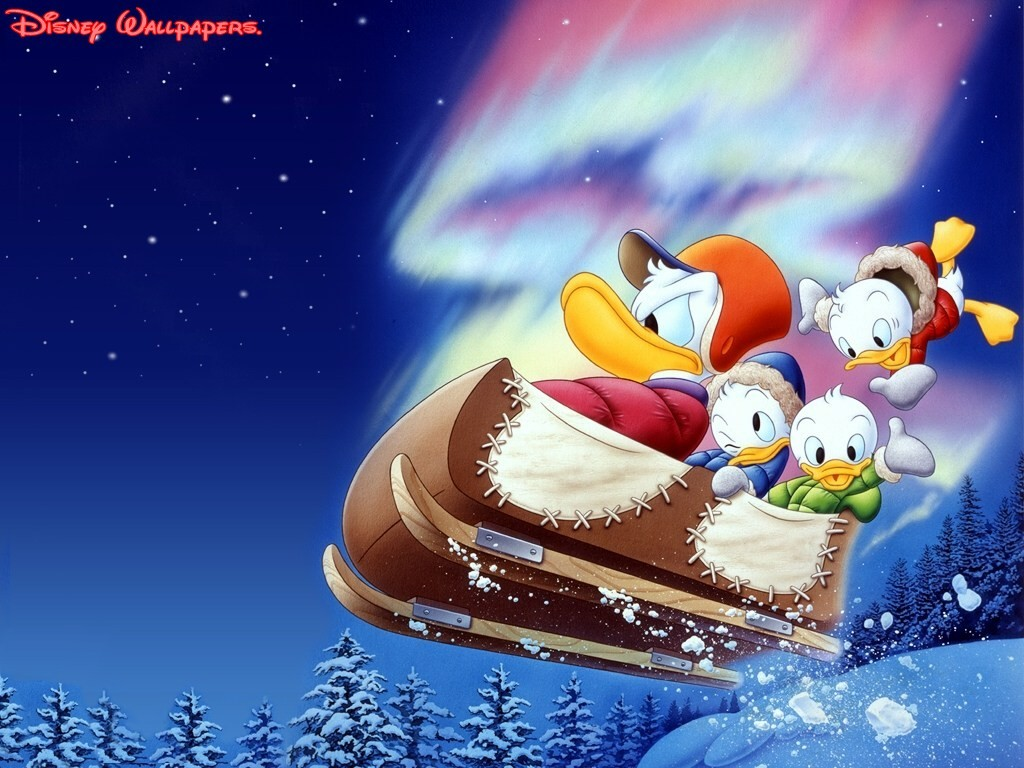 Disney Company Christmas Donald