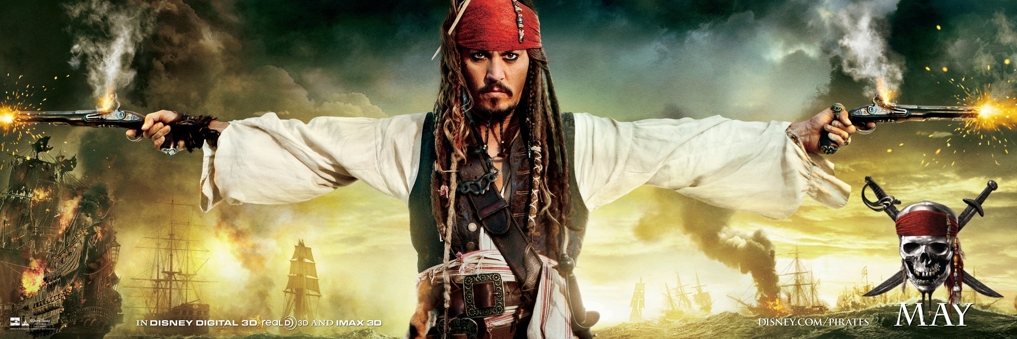 Disney Company Movies Pirates HD Wallpaper