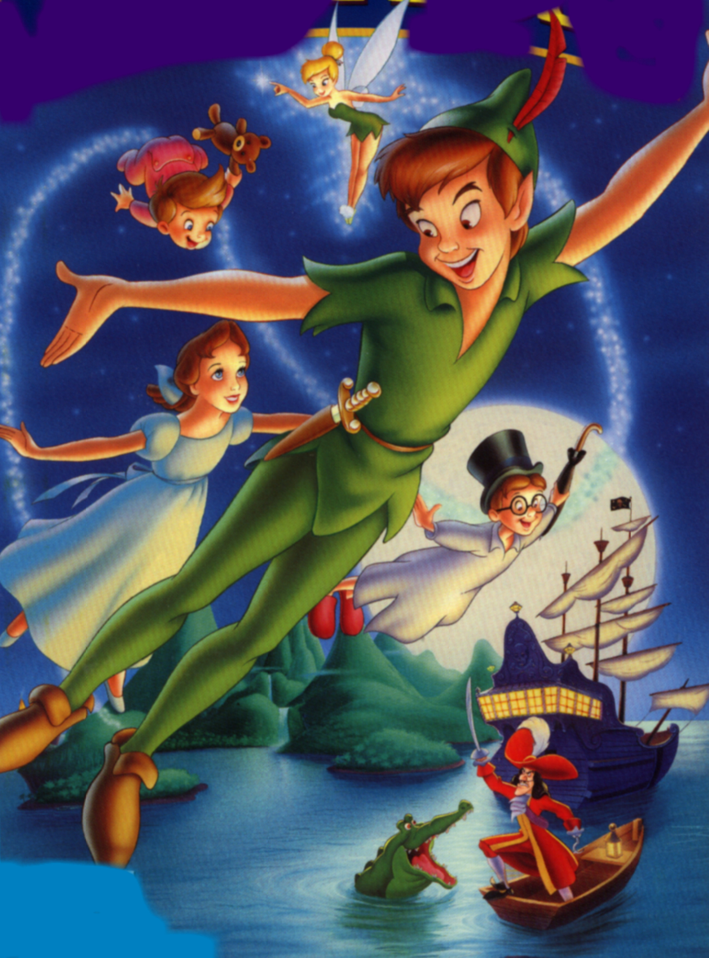 Disney Company Peter Pan HD Wallpaper