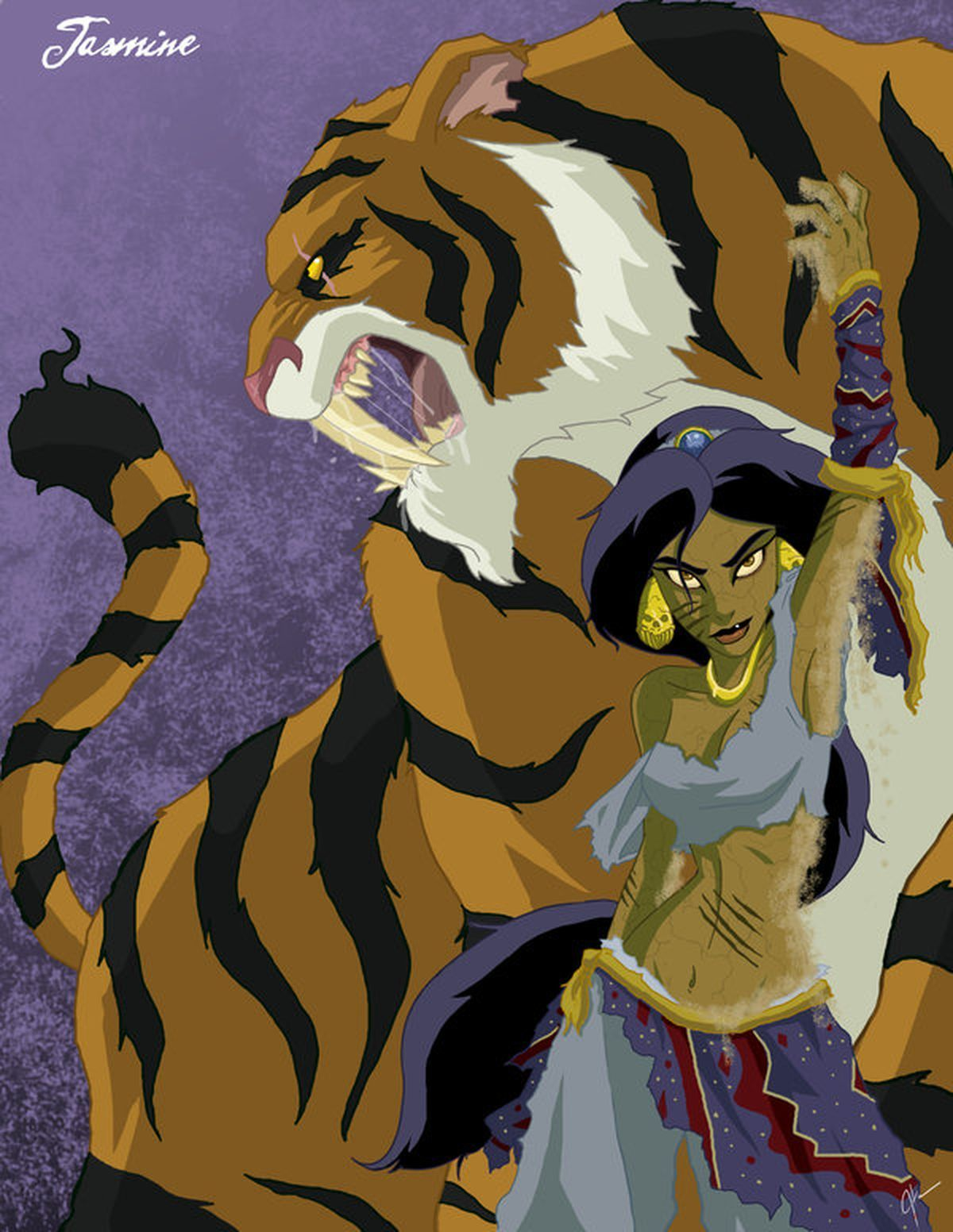 Disney Company Tigers princess HD Wallpaper