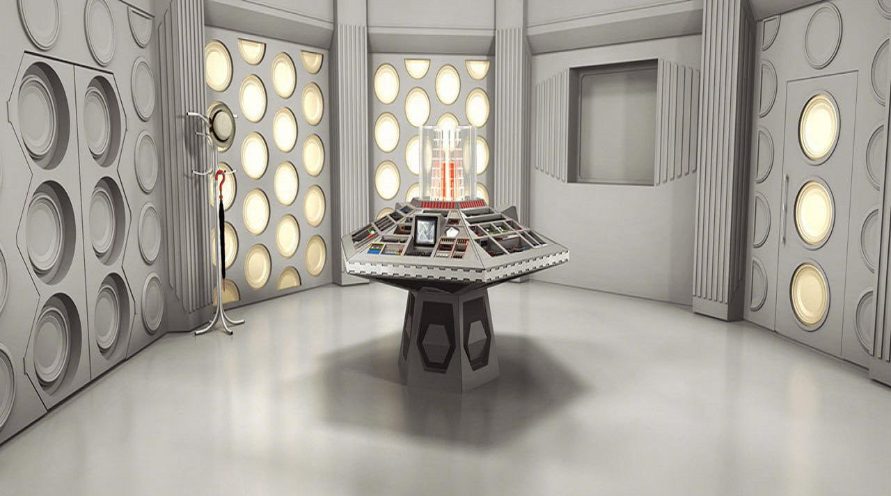 doctor Who? Control room HD Wallpaper