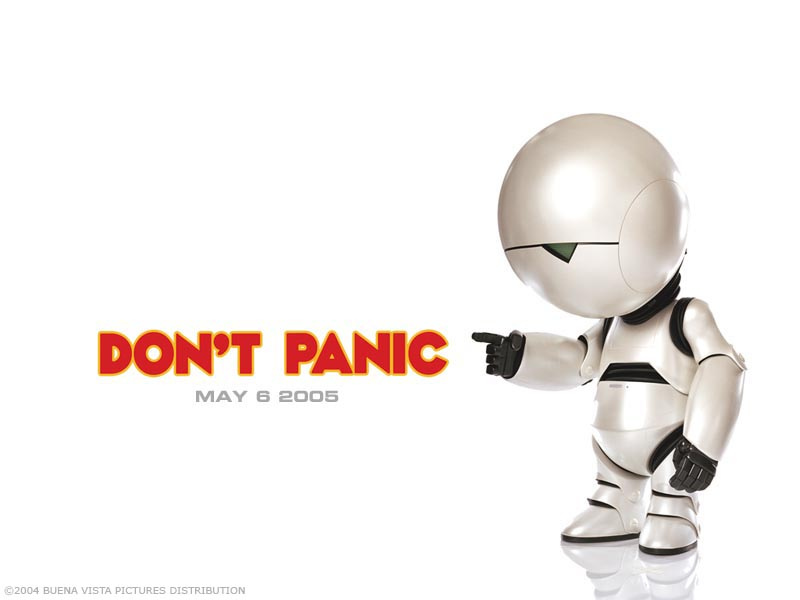 Don The Hitchhikers Guide HD Wallpaper
