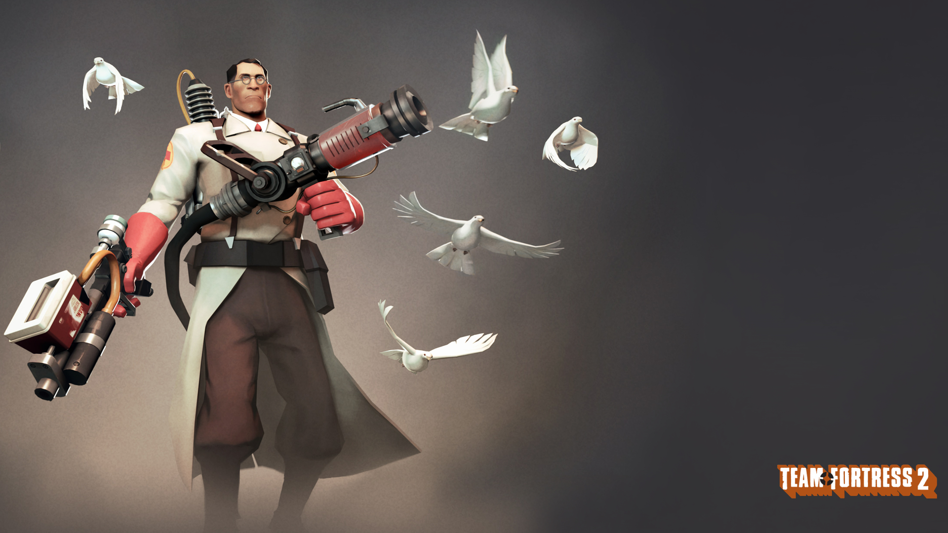 doves medic team fortress HD Wallpaper