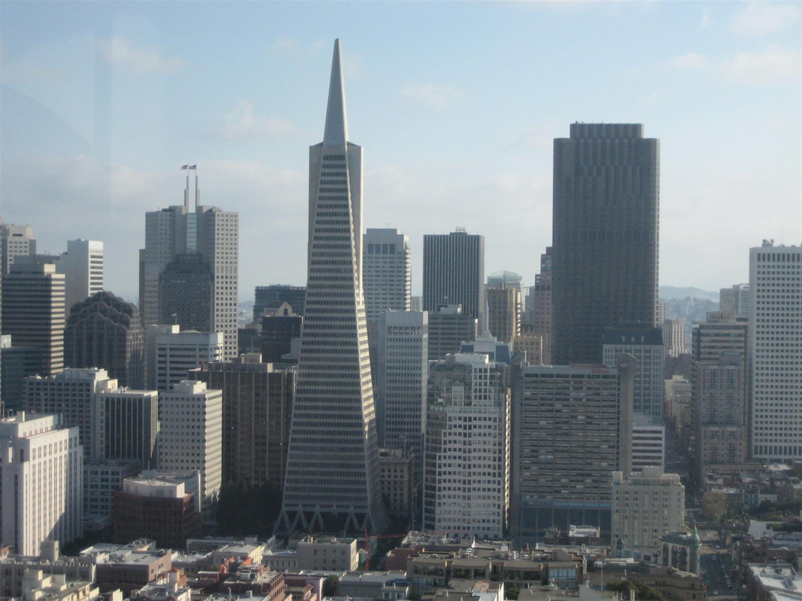 Downtown san Francisco from