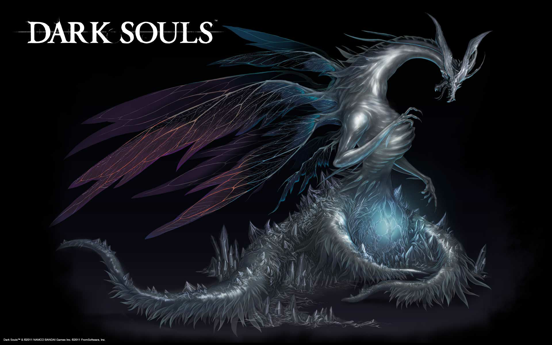 Dragons dark souls HD Wallpaper