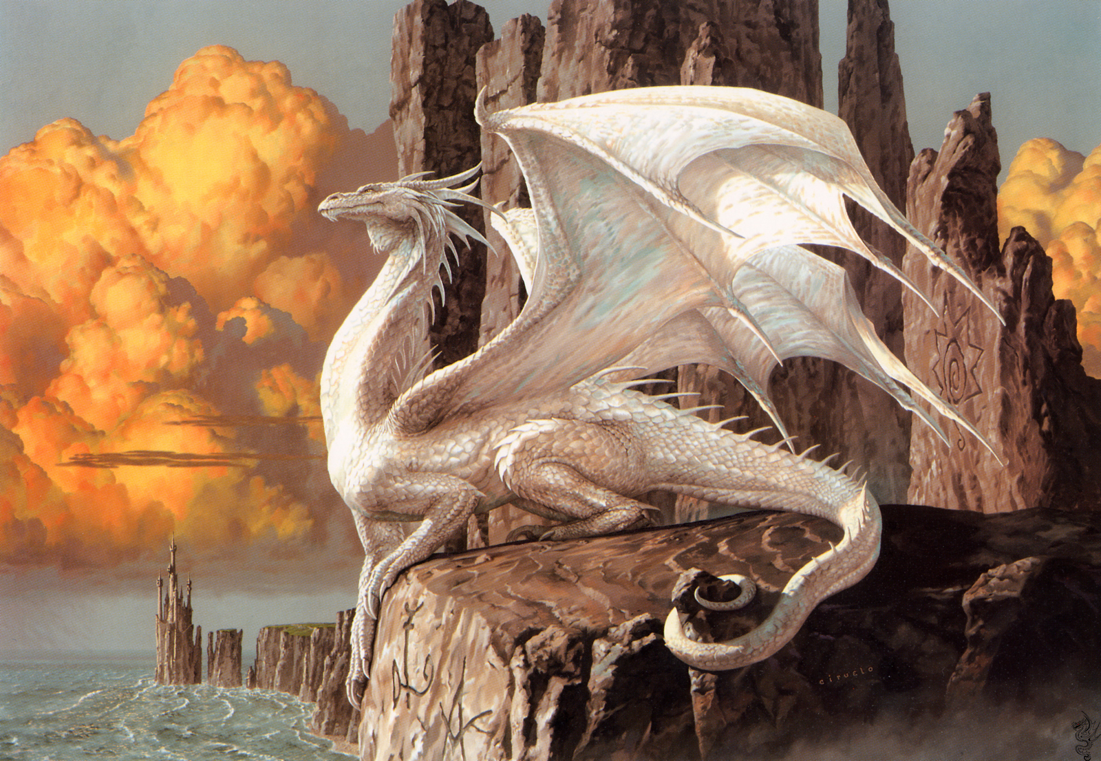 Dragons fantasy art