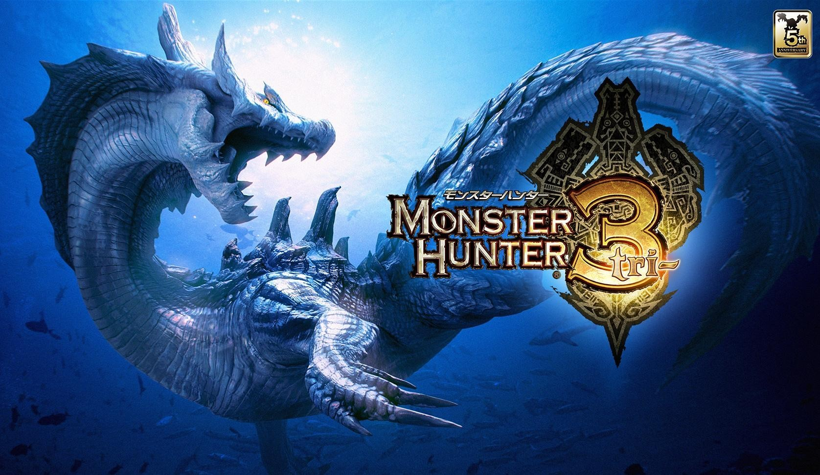 Dragons Monster Hunter HD Wallpaper