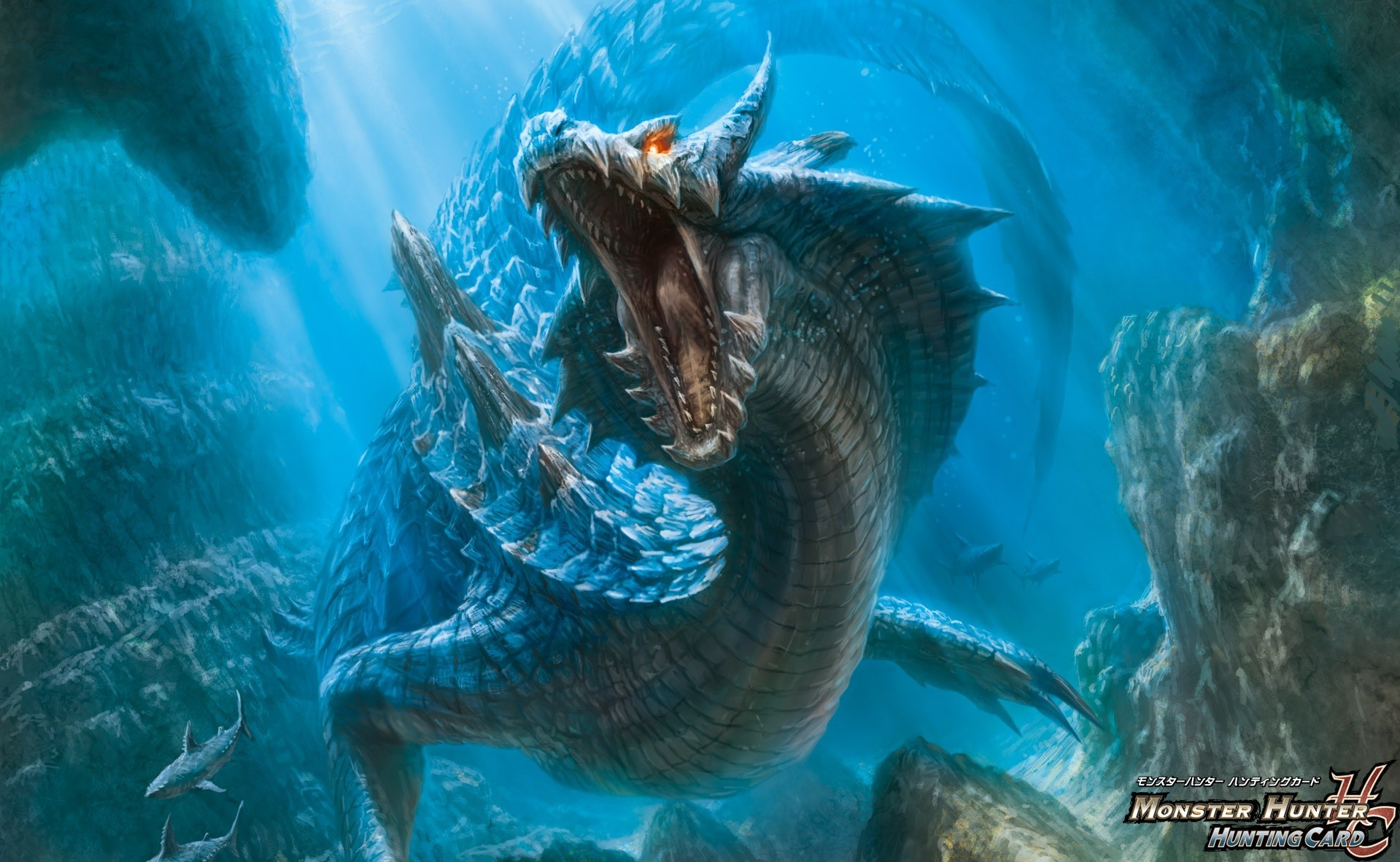 Dragons Monster Hunter lagiacrus HD Wallpaper