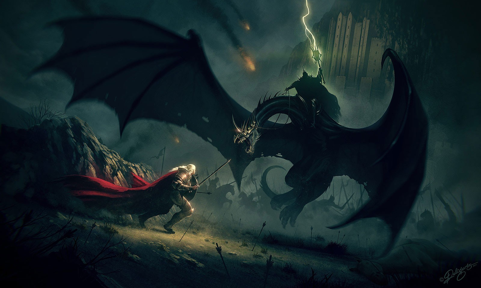 Dragons the lord of HD Wallpaper