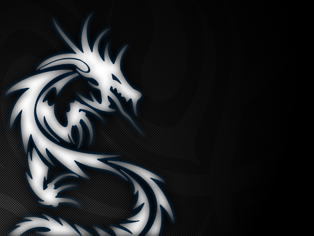 Dragons Tribal HD Wallpaper