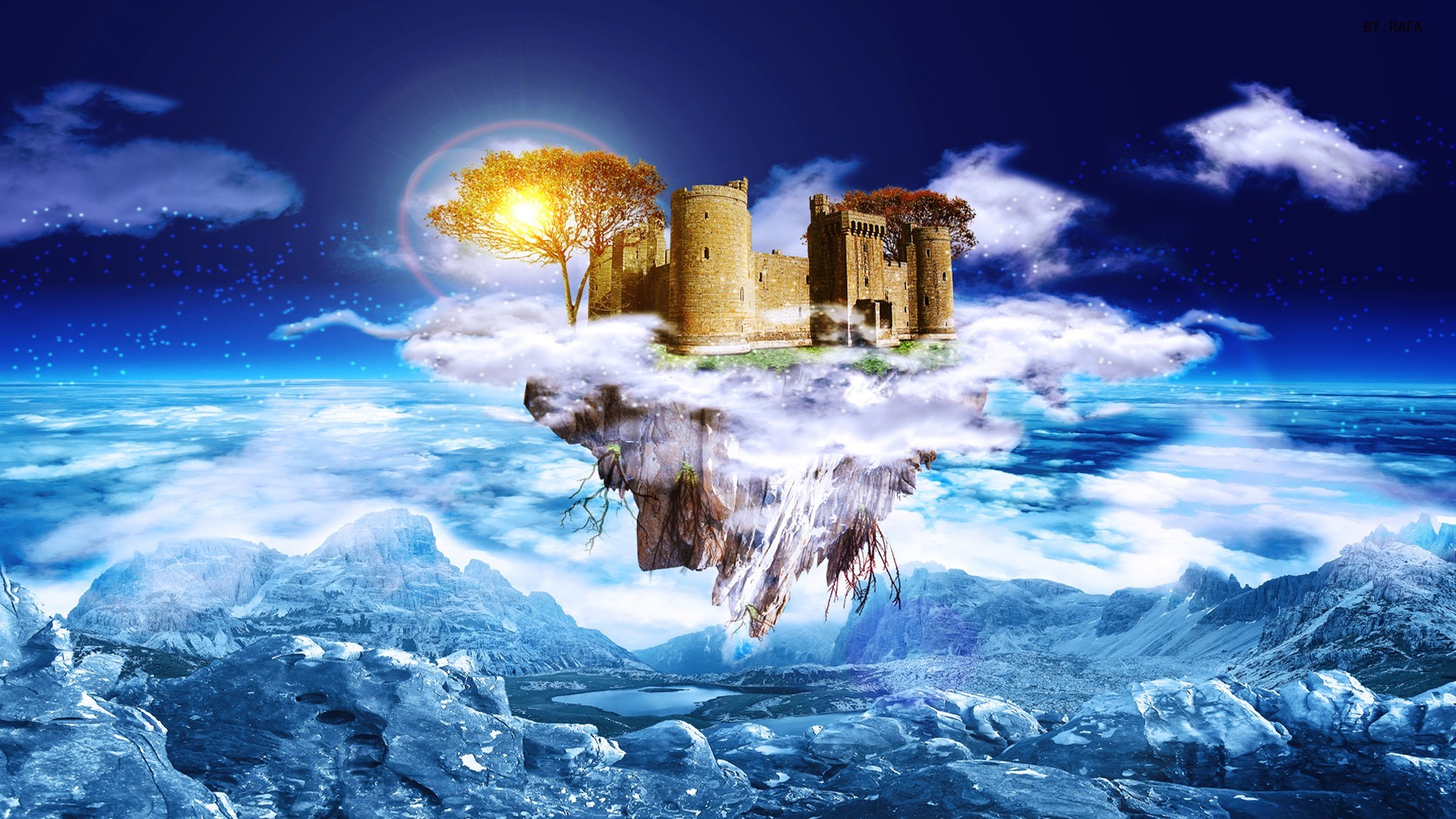dreams digital art 3d HD Wallpaper