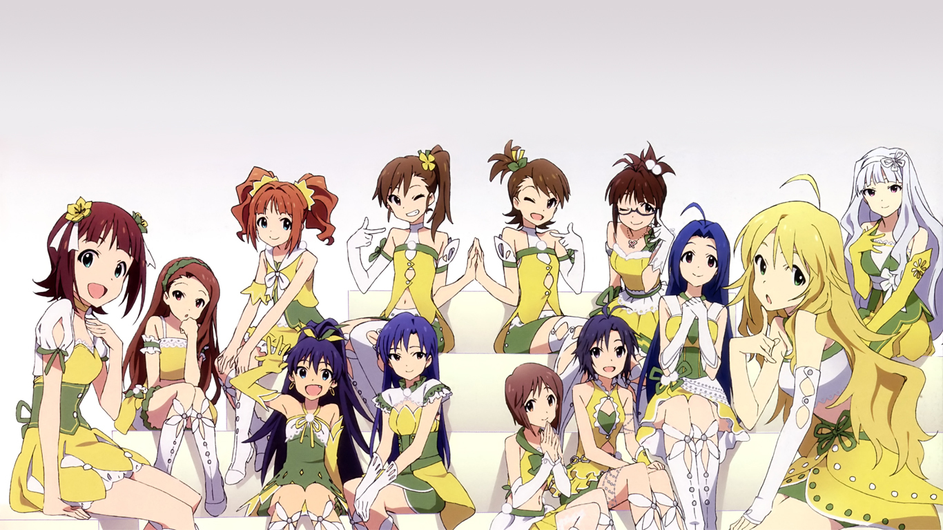 dress groups kisaragi chihaya HD Wallpaper