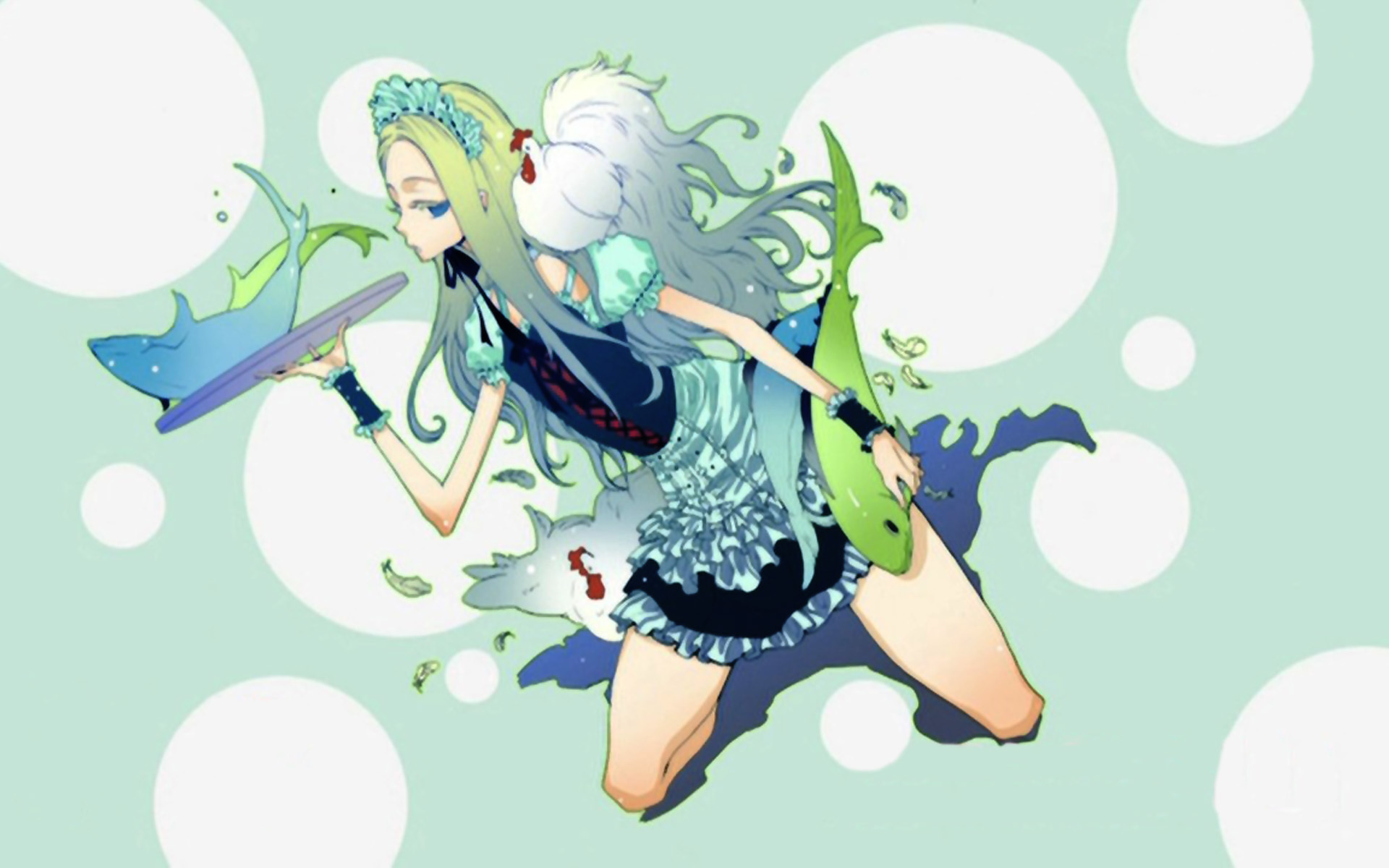 dress maids arakawa under HD Wallpaper
