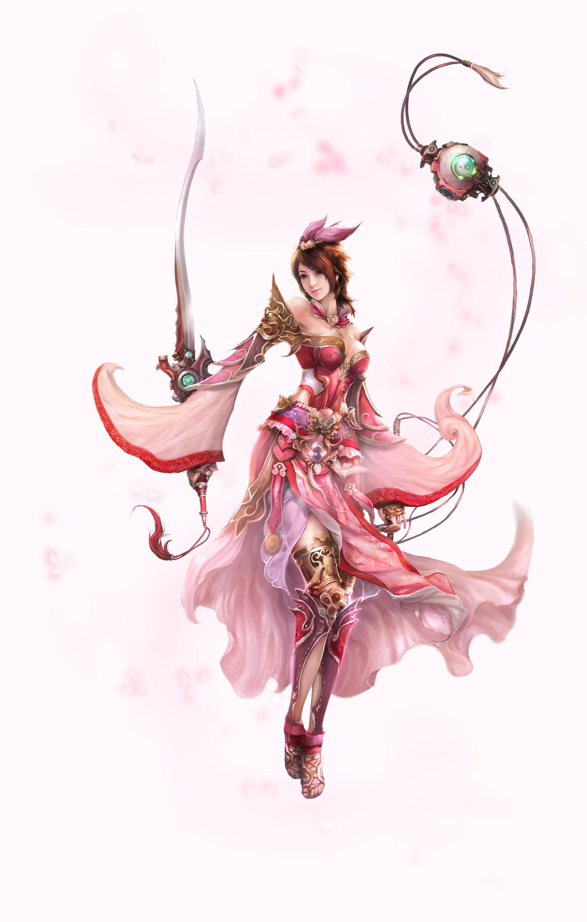 dress weapons blade fantasy HD Wallpaper