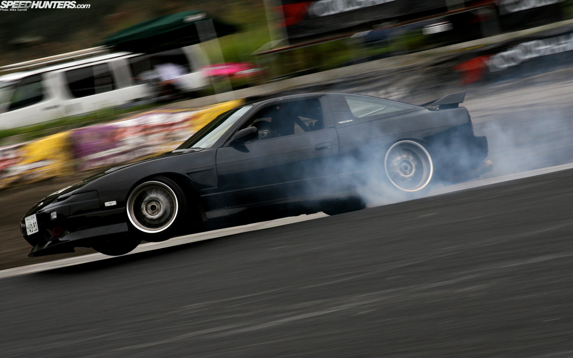 Drifting Nissan 180SX nissan HD Wallpaper