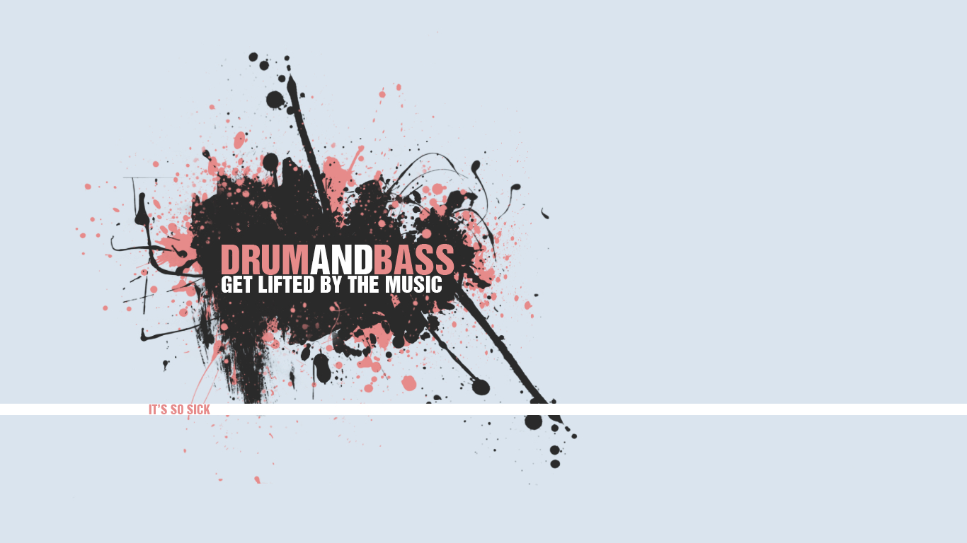 drum and bass dnb HD Wallpaper