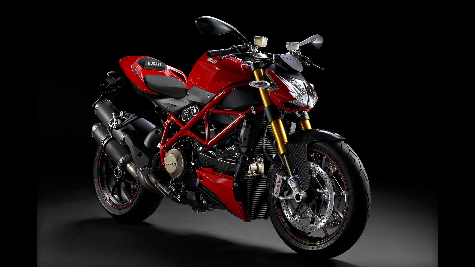 Ducati vehicles motorbikes streetfighter HD Wallpaper