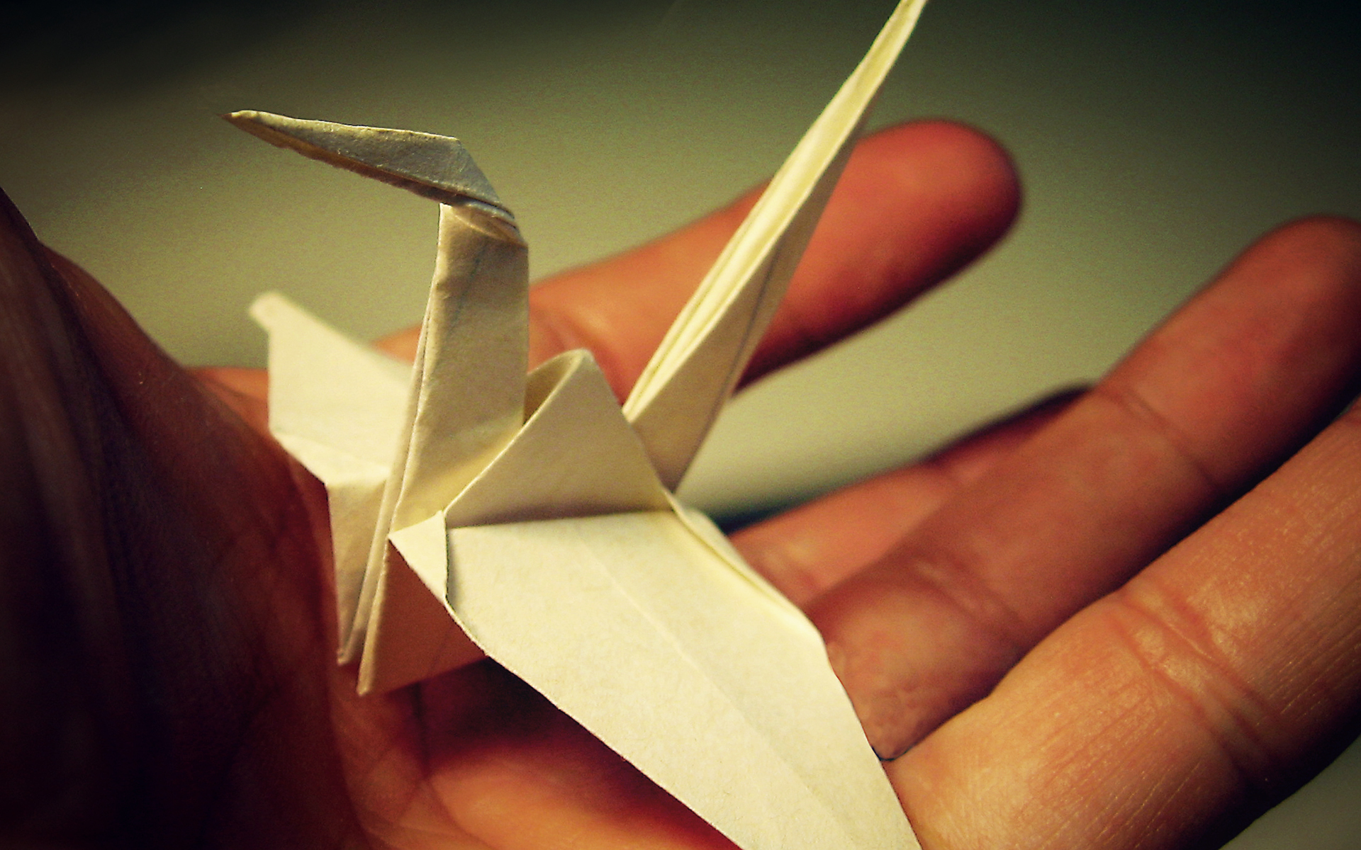 Ducks origami HD Wallpaper