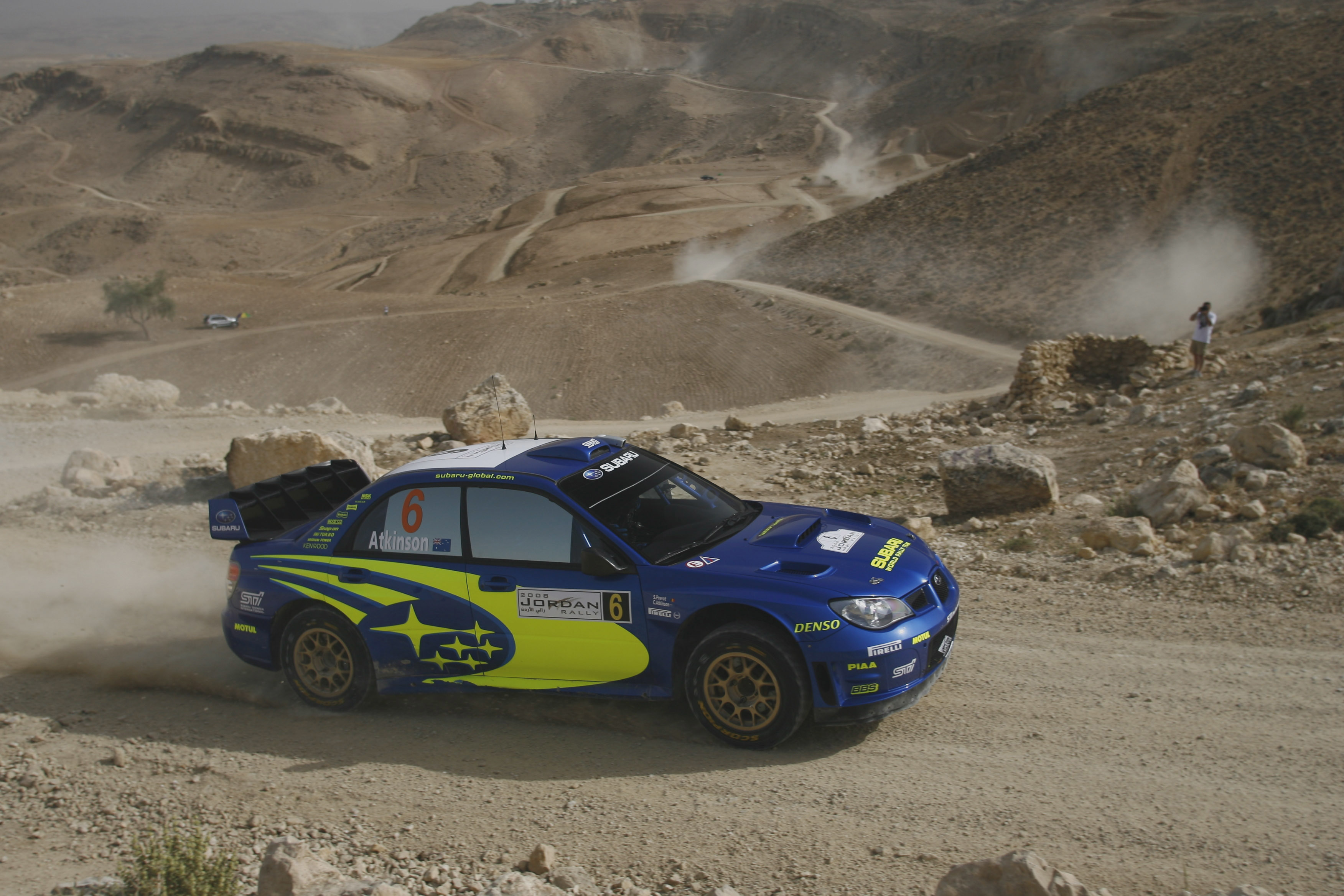 dust rally Subaru Impreza HD Wallpaper