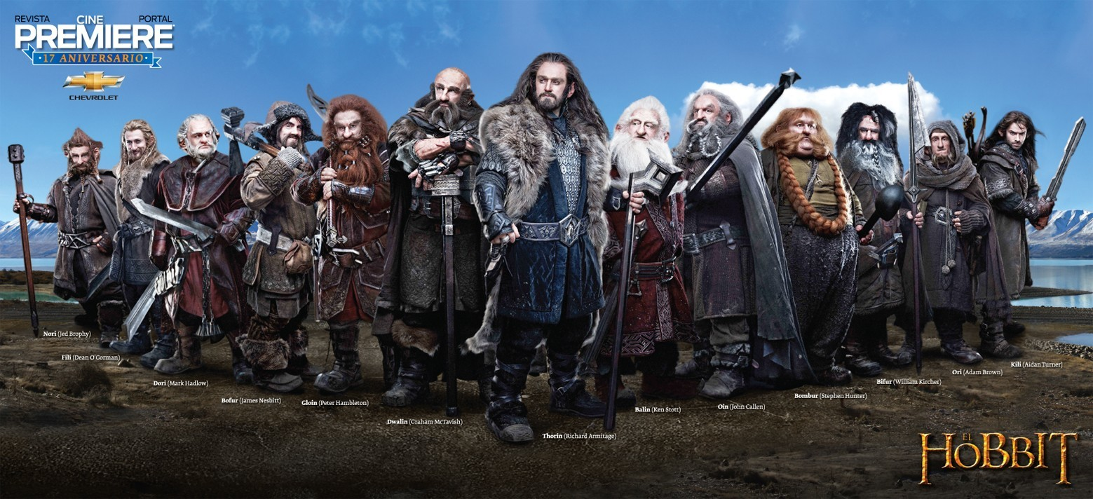 dwarfs The Hobbit posters HD Wallpaper
