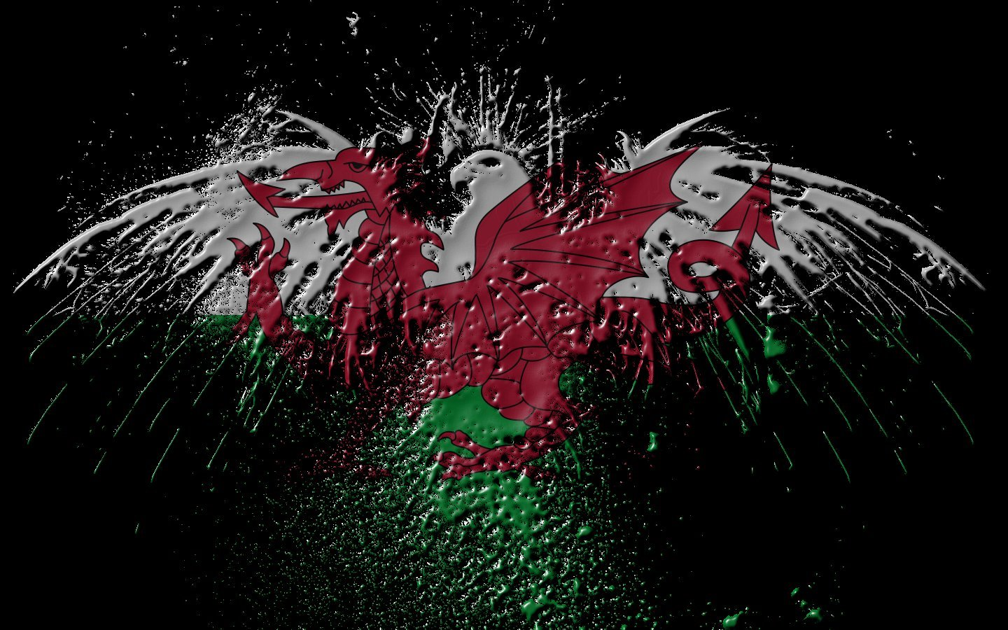 Eagles Flags wales World HD Wallpaper