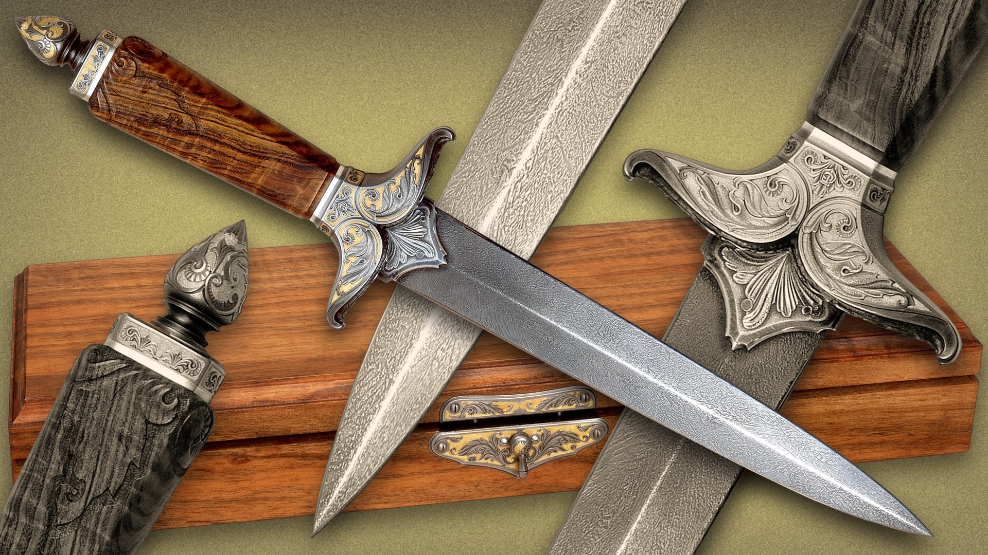 edge Steel Knives Daggers HD Wallpaper