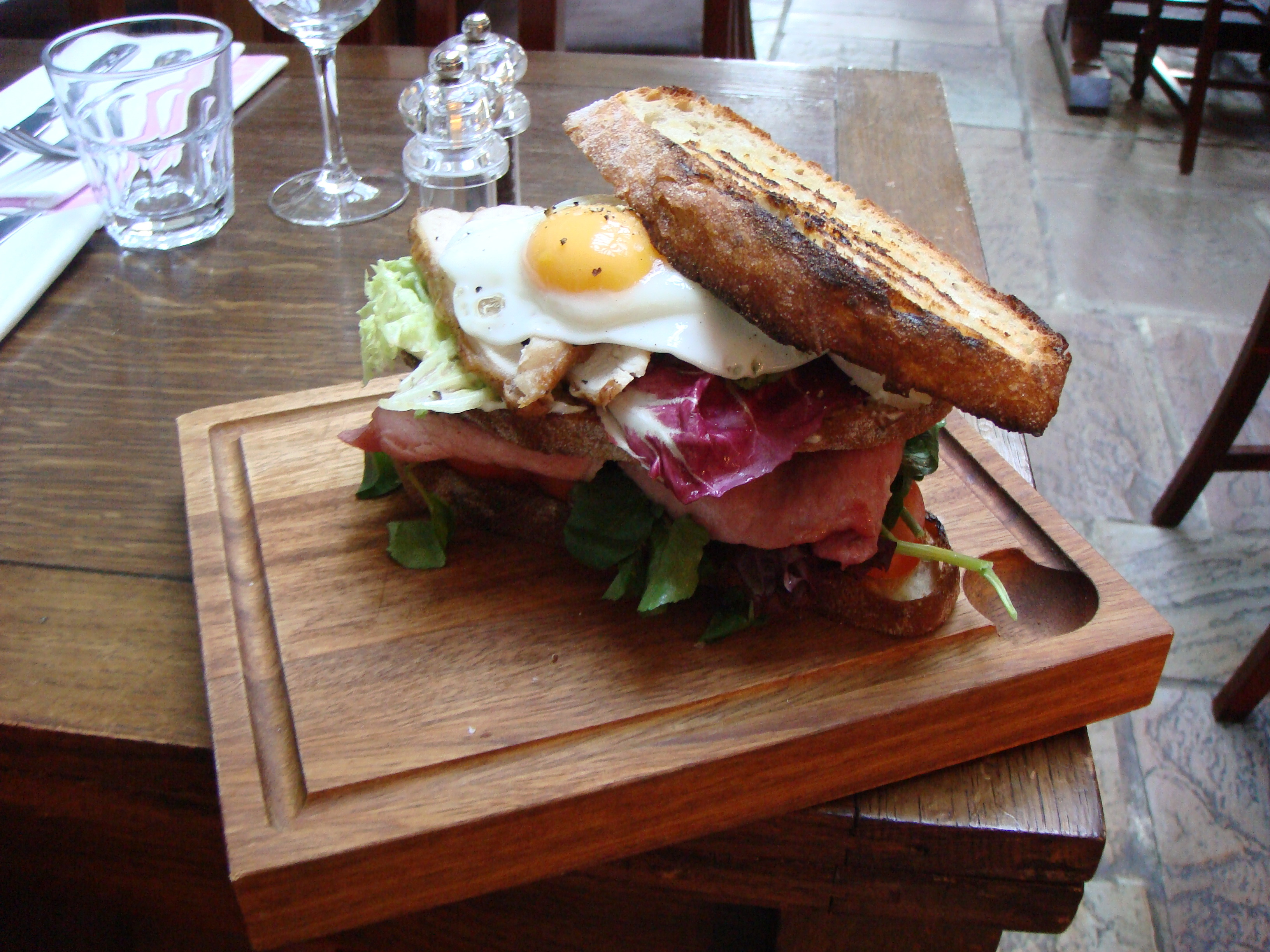 eggs sandwiches food ham