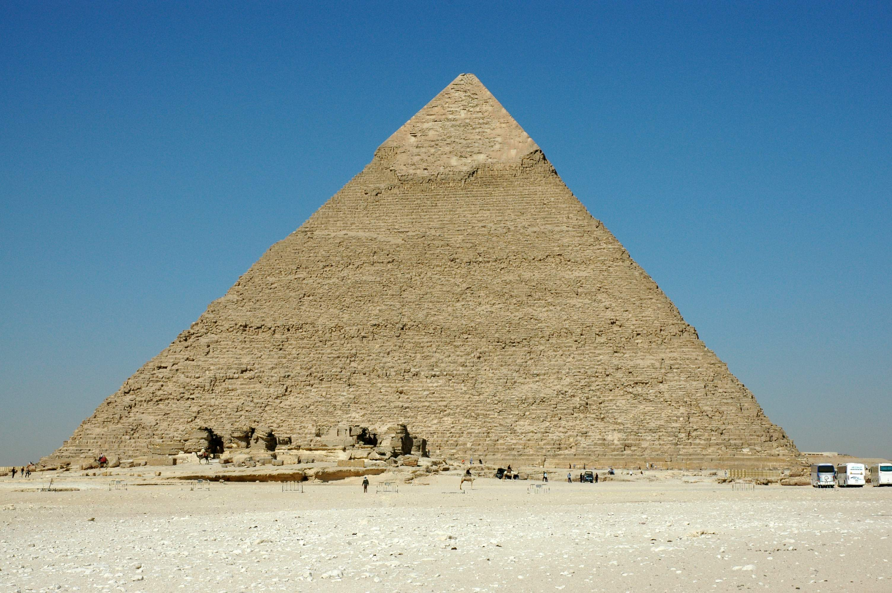 Egypt great pyramid of