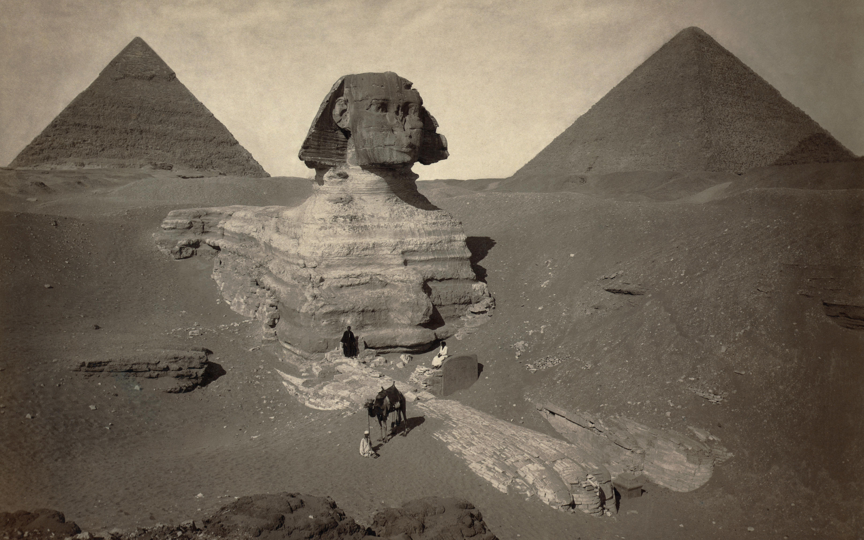Egypt sphinx Great Pyramid HD Wallpaper