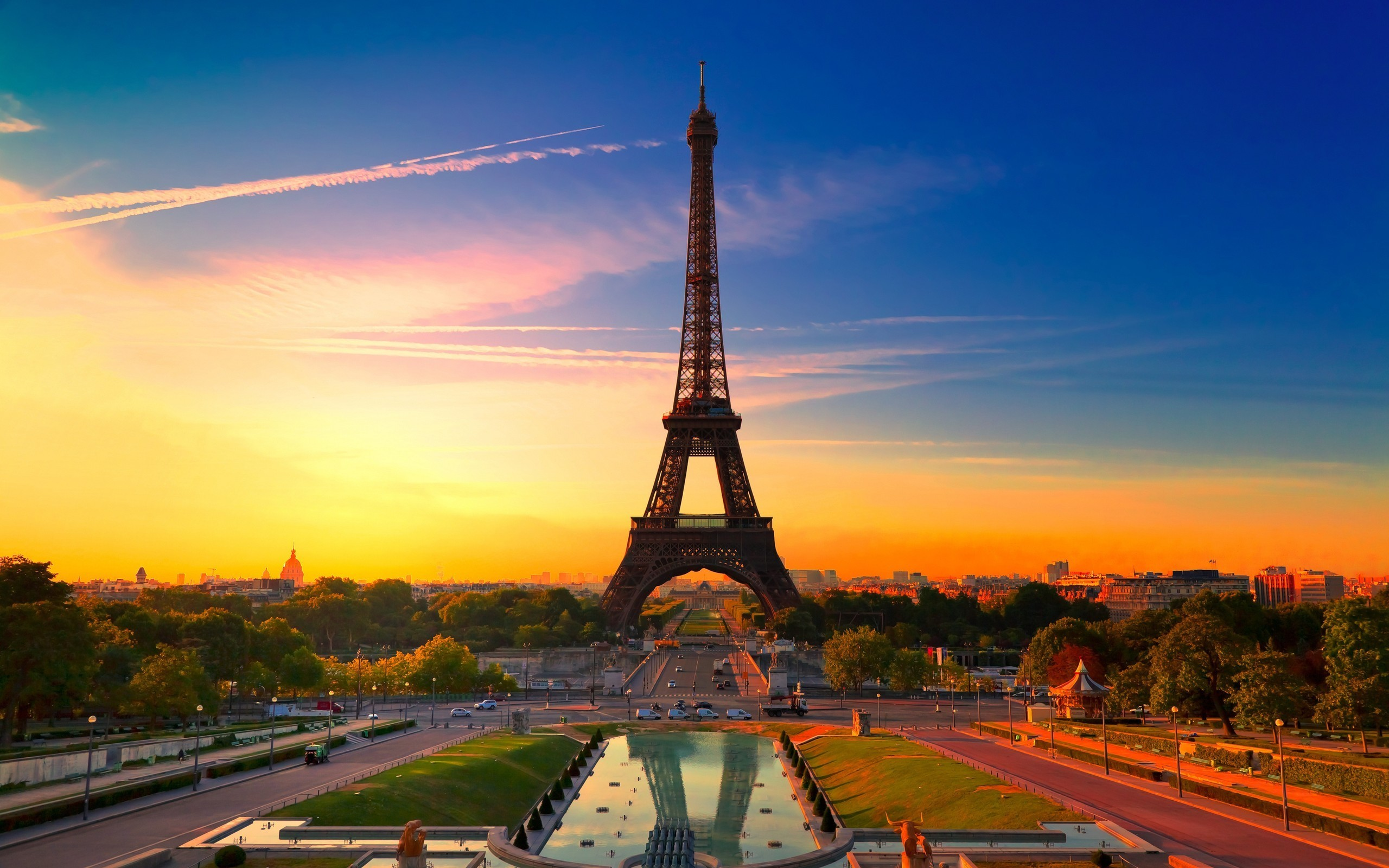Eiffel Tower Paris cityscapes