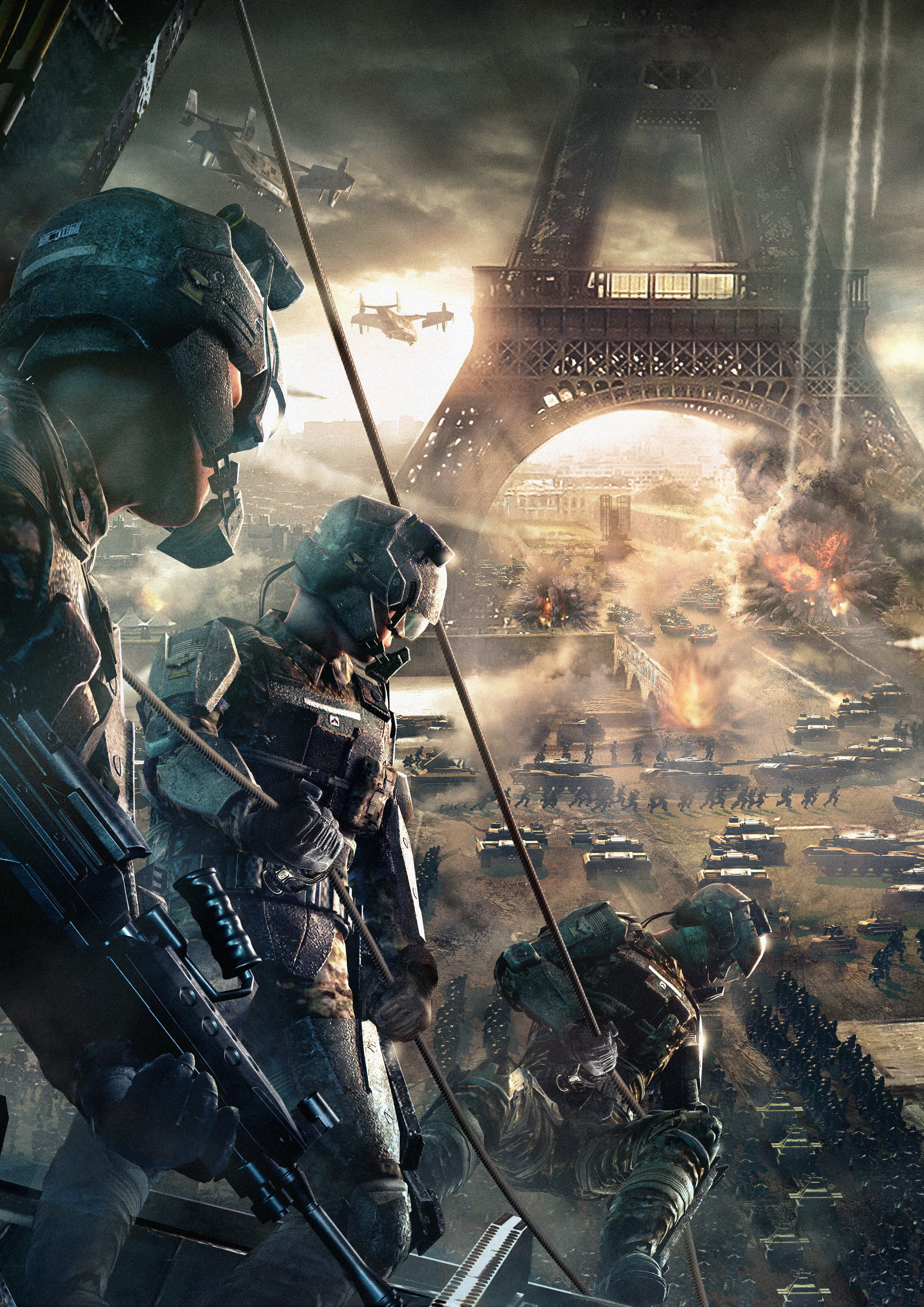 Eiffel Tower video games HD Wallpaper