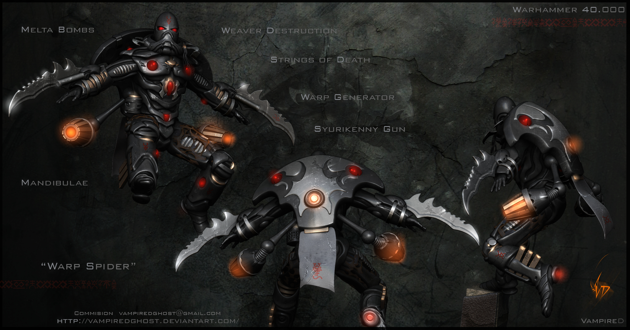 eldar Dawn Of War HD Wallpaper