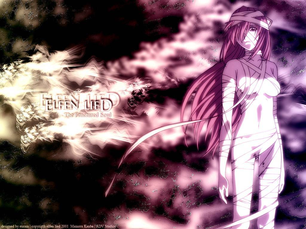 elfen lied Maybe someone HD Wallpaper