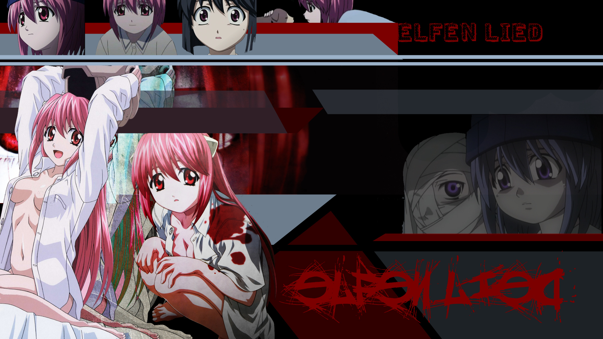 elfen lied nude Anime HD Wallpaper