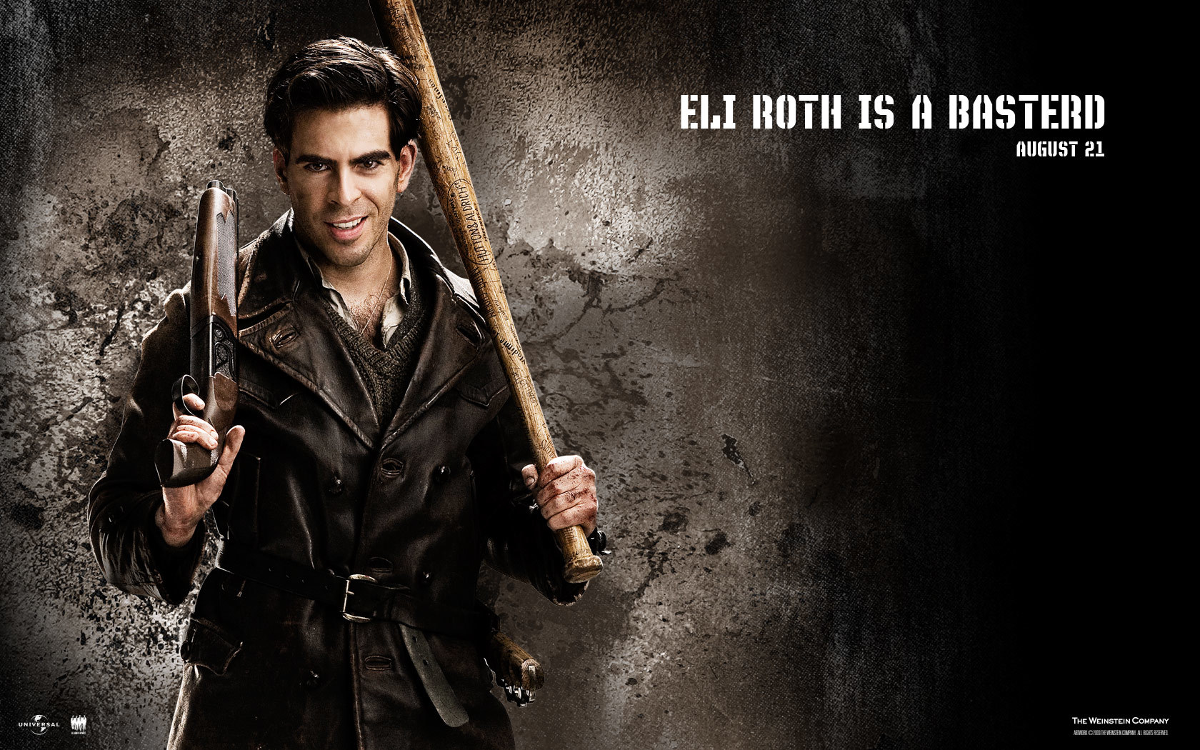 eli roth inglorious basterds HD Wallpaper