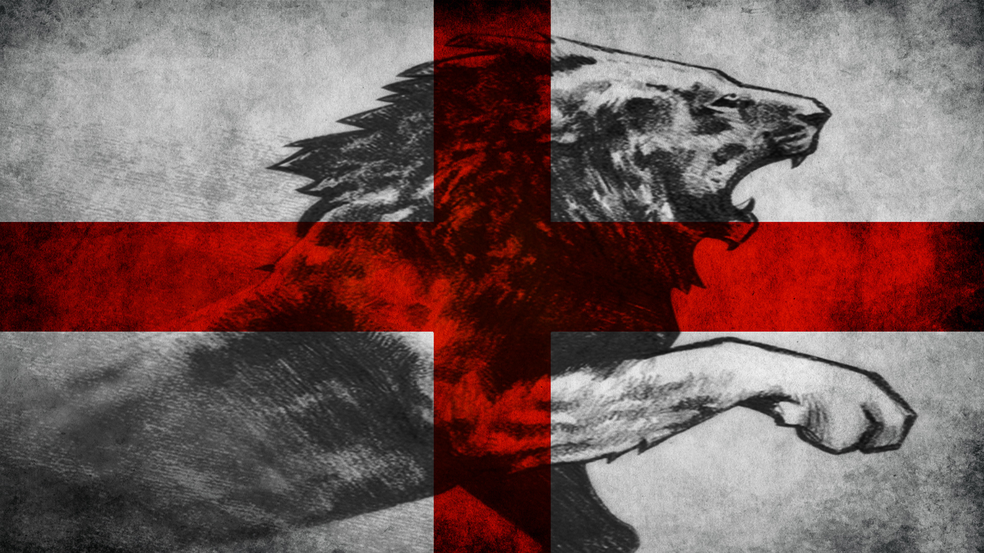 England Flags Lions HD Wallpaper