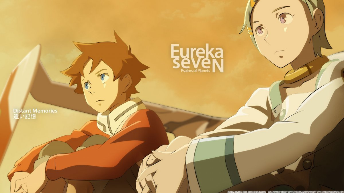 Eureka Seven Anime HD Wallpaper