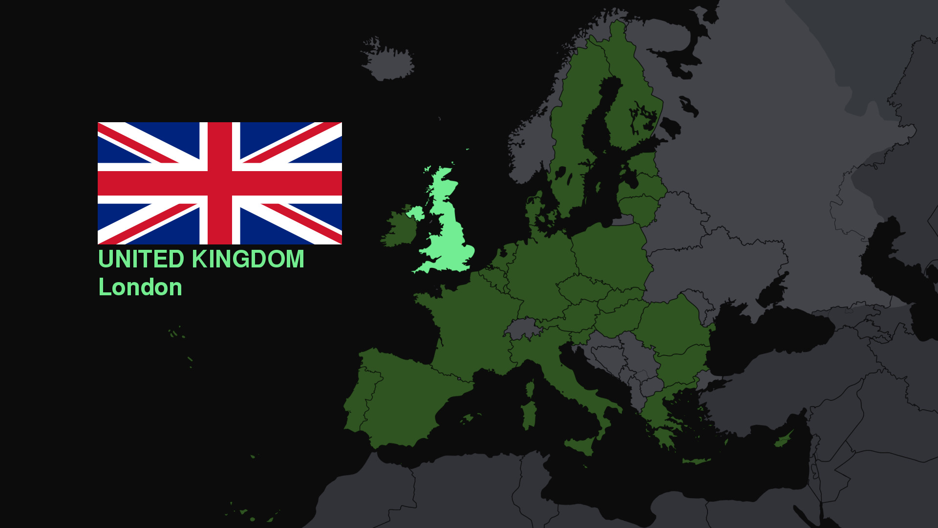 Europe Maps united kingdom HD Wallpaper